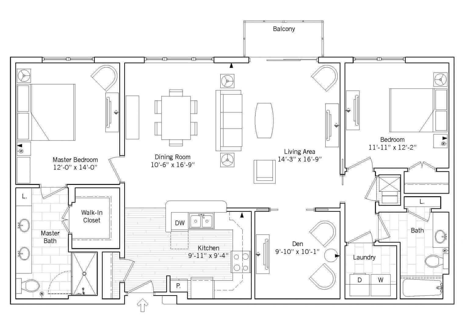 Victoria Floor plan 2D preview